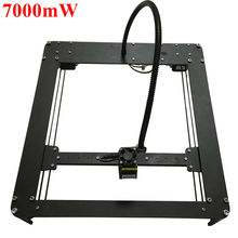 2016 New Laseraxe 7000mW 7W DIY Hbot Desktop Mini Laser Engraver Engraving Machine Laser Cutter Etcher 25X25cm Adjustable Power