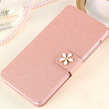 Protective Phone Case For Apple iPhone 4 4S Cove leather cell phone pouches wholesale Stand Card Slots Wallet