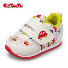 Crtartu Newest Spring and Autumn Print Children Girls Shoes 0-5 Years Old Girl Kids Sport Shoes Brand Girls Sneakers CSH427
