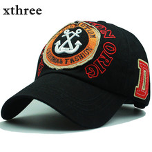 Xthree New brand cap Baseball Caps Snapback hat for Men casquette women Leisure cap Hat wholesale fashion Accessories