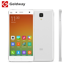 "Original Xiaomi Mi4 M4 Mi 4 Mobile Phone 3G WCDMA Snapdragon 801 Quad Core 5.0"" FHD 1920*1080P 13MP Camera 3GB RAM 16GB ROM(Hong Kong)"