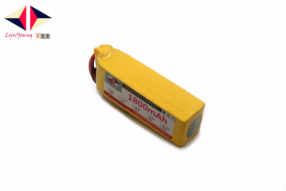 1800mAh 14.8V 35C 4s LYNYOUNG AKKU Lipo battery for RC Racing Car Drone Bike Truck UAV Glider Quadcopter Helicopter