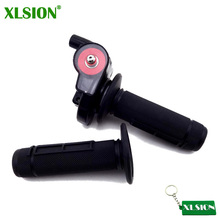 XLSION Twist Throttle Hand Grips For Chinese 110 125 140 cc Pitster SSR Pit Dirt Bike(China)