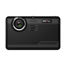 KEELEAD H55 7 inch 1080P Car DVR Android system GPS navigation Quad Core 512MB 16GB Dash camera(China)