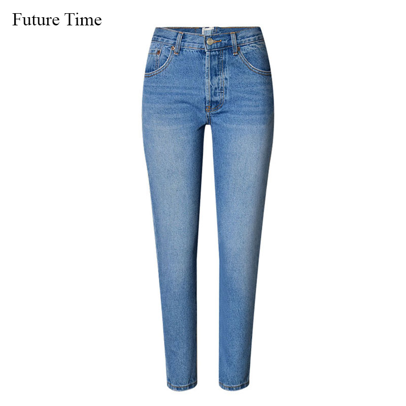 Future Time Back Fake Zippers Jeans Hot Sale High Waist Elastic Full Length Jeans Hip Lifted Female Skinny Pencil Jeans XK052