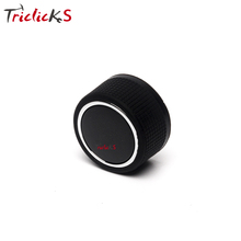 Triclicks New 22912547 Rear Radio Music Control Knob Button Car Volume Controller Knobs For GMC Chevrolet Caddillac Buick 07-14(China)