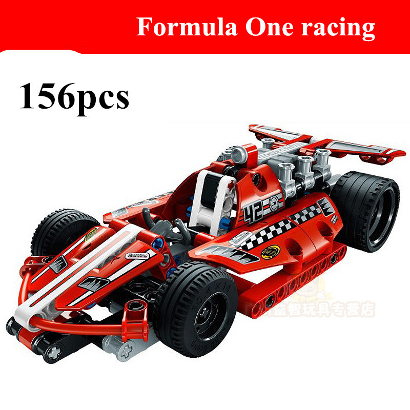2015 new hot sale decool 3412 warrior dazzing red racer pull back technic car Building Block Sets Toys leping Bringuedos DIY<br><br>Aliexpress