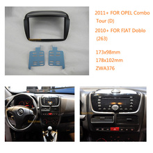 Car Radio fascia for fiat Doblo (263) 2010+ for opel Combo Fitting Kit installation For Doblo (263) 2010+ / Combo