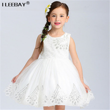 Kid Dress Sequined Princess for Girl Party Baby Pageant Dresses Toddler Evening Gowns Child Moderator Dress Flower Girl Costume