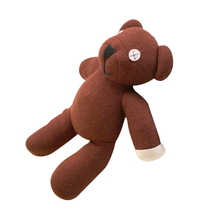 "1pcs 13"" 35cm genuine Mr. Bean teddy bear the Tactic birthday gift mrbean has creative cute plush toys Dolls(China)"