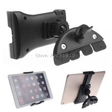 Universal Adjustable Car CD Slot Mobile Mount Holder Stand For Phone Tablet PC #R179T# Drop shipping