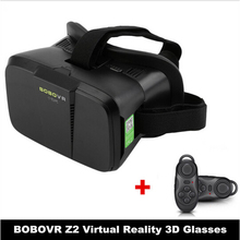 BOBOVR Xiaozhai Z2 3D Glasses VR Box Virtual Reality Goggles Vrbox Remote Gamepad Google Cardboard for iPhone Samsung Android
