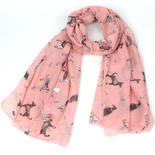 echarpes foulards femme spring scarf women designer shawl and scarves animal scarf dogs prices in euros female hijab brand cape