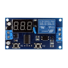 New Arrival Delay Time Module Multifunction Switch Control Relay Cycle Delay Timer Module DC 12v-time-delay-relay Module(China)