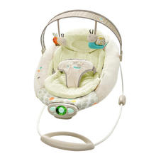 Electric baby swing chair musical baby bouncer swing newborn baby vibrating chair baby swing rocker(China)