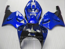 Blue *For Kawasaki ninja High quality Fairings ZX7R 1996 1997 1998 1999 2000 2001 2002 2003 96-03 fairing kit +Ems free a87(China)