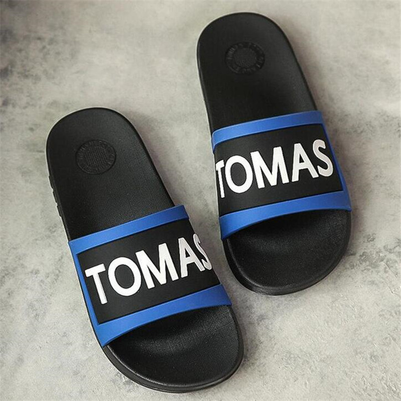 2017 Luxury new Fashion Brand Men Casual Sandals Famous Designer Comfortable High Quality Trend Men Summer Beach Slippers TOMAS<br><br>Aliexpress