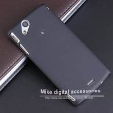 New Black Luxury Rubberized Matte Plastic Hard Case Cover For Sony Ericsson Xperia Arc Arc S X12 LT15i LT18 Phone Cover Cases