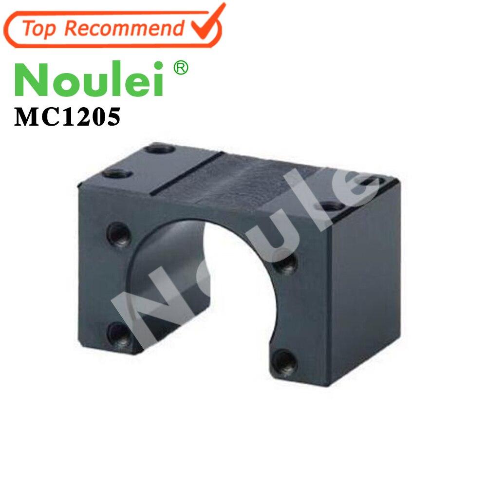 Noulei MC1205 Ball Screw Nut Housing Ballnut Bracket MC Series Black<br>