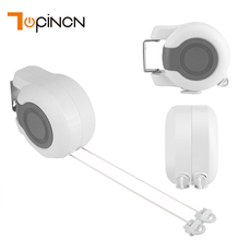 13m Retractable Double Clothes Drying Line Indoor Outdoor Washing Laundry Tool Bathroom Accessories(China)