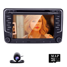 New Wince 6.0 Car DVD player GPS Entertainment Multimedia System For Volkswagen VW Passat dvd player JETTA GOLF Radio SWC FM map(China)