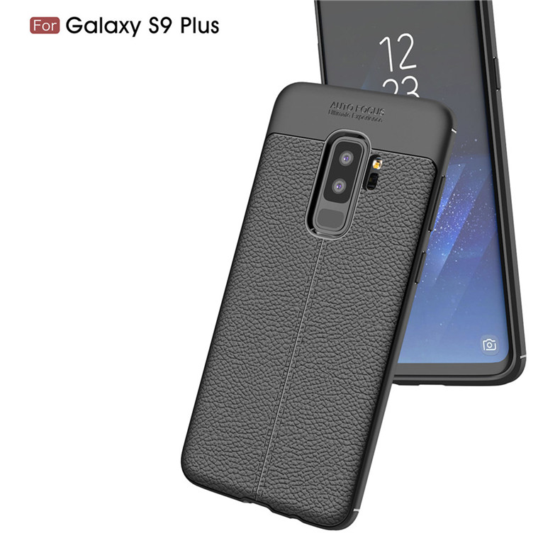 Lenuo case for Samsung Galaxy S9 Plus explosion-proof TPU soft mobile phone cover for Samsung Galaxy S9+ silicone shell cases 7