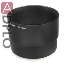 Pixco 58mm Metal Lens Adapter Tube Suit For Canon PowerShot S5 S3 Camera(China)