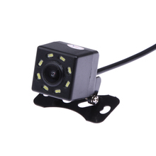 2017 New Waterproof Car Rear View 680T Camera 8 LED Light Rearview Reverse Backup IR Camera for Auto Parking Assistance System