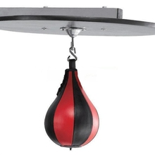 Boxing Bag Pear Boxing Punching Bag Fight Ball Standing Speed Ball Inflatable Punching Bag MMA Muay Thai Kick Boxing Equipment