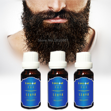 3pcs Beard Growth Oil Products serum for men beard hair growth Pubic Chest Mustache Thicker Essence 20ml anti hair loss products(China)