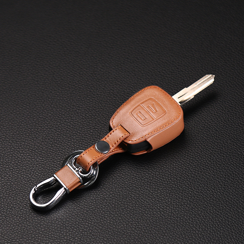 High quality hot leather 2 button car key cover for vauxhall Opel Astra Zafira Omega Astra Mk4 Vectra dust collector car styling(China (Mainland))