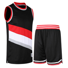Professional Men's Basketball Game Sportswear Suit Jersey Shorts Training Clothes DIY Breathable Free design Custom logo number