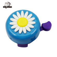 Debike Four Colors Flower Bicycle Bell for Lady Bike Aluminum Cycling Ring for Kids Folding Bike Mountain Bike(China)