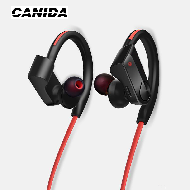 CANIDA Magnet Wireless Bluetooth Earphone Bluetooth Headset Sport Running Stereo Bass Noise Reduction Earbuds with Mic PK A920bl
