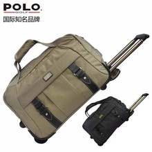 Brand POLO. Golf Travel Bag Clothing And Shoes Bag Storage Clothing Bag Travel Tote Bag, Anti-Friction High Density Nylon