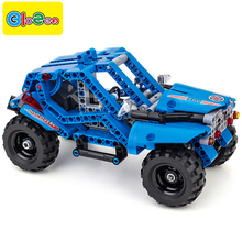 BIOZEA educational military designer building blocks toys car kids children compatible with legoe technics bricks parts toy boy