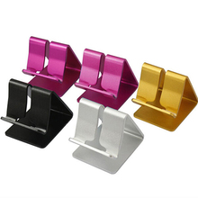Universal Aluminium Alloy Cell Phone Tablet Table Desktop Desk Stand Holder(China)
