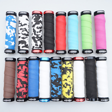 GENIER Bicycle Grip Ergonomic MTB Folding Bike Bicycle High Density Handlebar Sponge Grips Can Be Locked For Sram Grip(China)