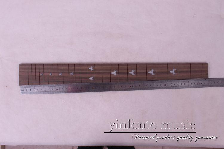 new  high Quality  1 x  25.5   Guitar Fretboard electric guitar rose  Wood Fretboard Parts 11 #  inlay<br>