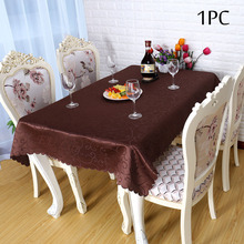 Modern Polyester Round Table Cloth Fabric Rectangular Tablecloth Hotel Party Wedding Table Linens Dining and Coffee TableCloths(China)