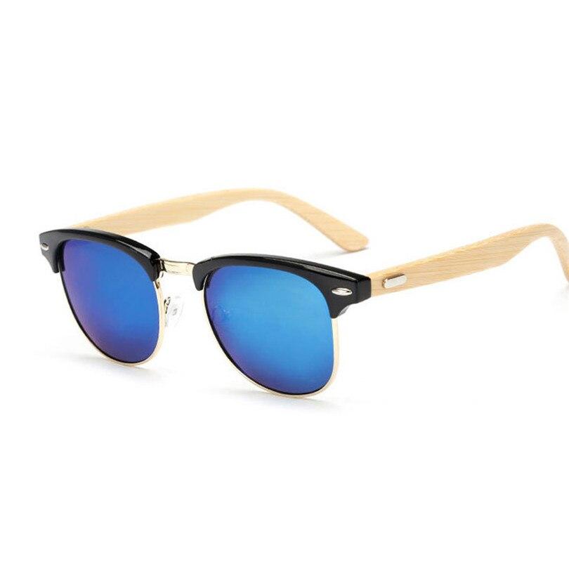 wooden  Frame Classic Bamboo Sunglasses Men Mirrored Wood Sun Glasses For Women Original Wooden<br><br>Aliexpress