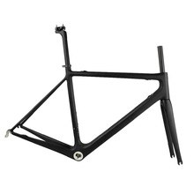 Cheapest china bicycle frame full toray carbon fiber road bike frameset UD Matte 49 52 54 56 58cm size FM011(China)