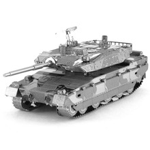 Type 10 MBT Tank Fun 3d Metal Diy Miniature Model Kits Puzzle Toys Children Educational Boy Splicing Science Hobby Building