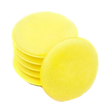 9PCS Round Car Cleaning Wash Sponge Auto Waxing Sponge Polishing Pad Car Detailing Products Wash Care Clean Sponges For Dishes