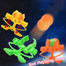 2017 Super Hot Toy Action Figure Flying Saucer Launcher Shooter Toys Kid gift