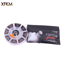 XFKM 8 in 1 Prebuilt Coil Clapton Coil Alien Tijger Bijenkorf Quad platte twisted Fused Verwarming Draad voor Vape DIY E Sigaret Premade Coil(China)