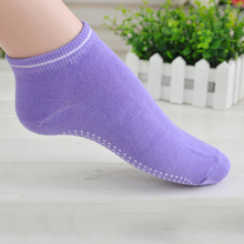 Women Pilates Yoga Non Slip Grip Socks Cotton Dance Sport Massage Ankle Sock Gym Dance Sport Exercise Socks
