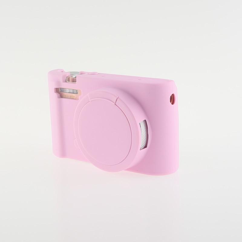 Soft Silicone Rubber Camera Bag Protective Body Case for Casio ZR5000 5500 5300-9