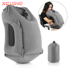 XC USHIO The Most Diverse & Innovative Inflatable Travel Pillow on Airplane Pillows Neck Pillow Cushion Pad Mat Outdoor Cushions(China)