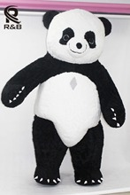 New Style 2.6M Inflatable Panda Costume Inflatable Panda For Advertising Customize For Adult Suitable For 1.7m To 1.8m Adult(China)